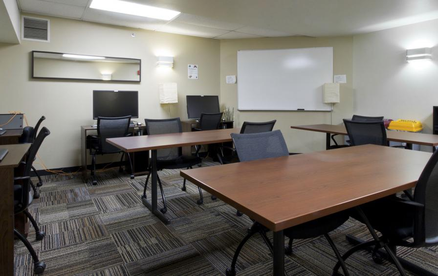 Frontier's Taylor Learning Center available for students to get some extra help on coursework.