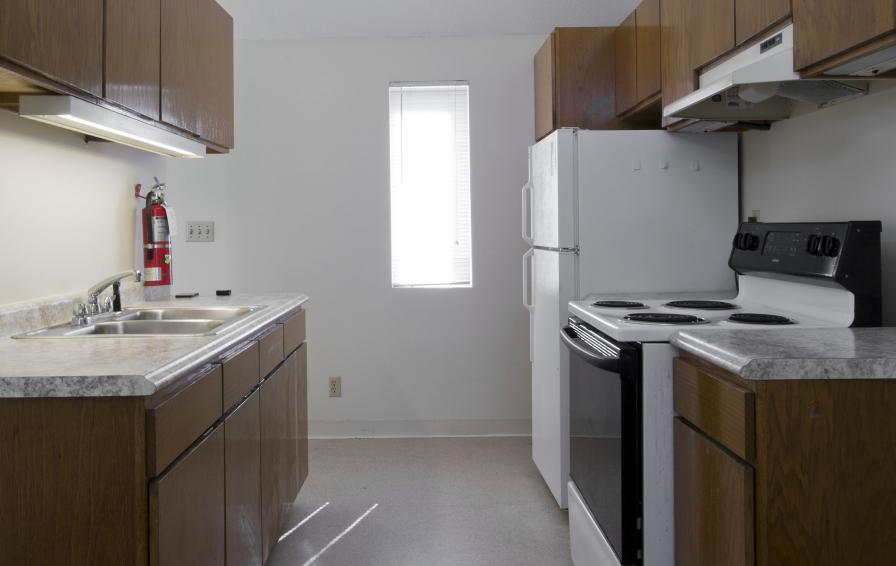 West Bank Townhomes Kitchen
